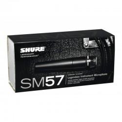 Shure SM 57 LCE microfono dinamico unidirezionale ideale per registrare/amplificare suoni dal vivo