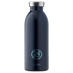 24Bottles Rustic Deep Clima 500ml Acciaio Inossidabile Blu Borraccia