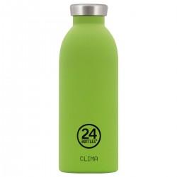24Bottles Lime Green Clima Borraccia 500 ml Uso Quotidiano, Verde Acciaio Inossidabile