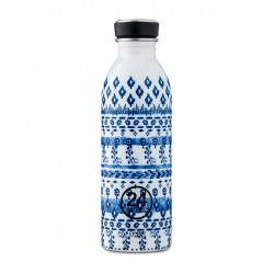 24Bottles Indigo Urban Borraccia 500 ml Uso Quotidiano Acciaio inossidabile