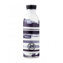 24Bottles Stripes Urban Borraccia 500 ml Uso Quotidiano Acciaio inossidabile