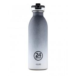 24Bottles Tempo Grey SPORT Urban Borraccia 500 ml Uso Quotidiano Acciaio inossidabile