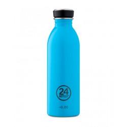 24Bottles Lagoon Blue Urban Borraccia 500 ml Uso Quotidiano Colore Blue Acciaio inossidabile
