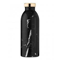 24Bottles Marble Black Clima Borraccia 500 ml Uso Quotidiano Colore Nero Acciaio inossidabile